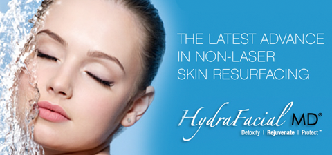 hydrafacial at evergreen laser