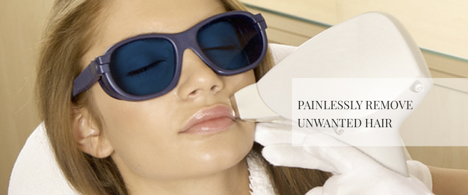 Painlessly Remove Unwanted Hair